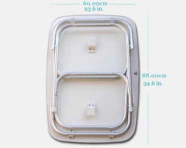 Portable Boat Toilet : Reliance hassock portable toilet potty outdoor camping fishing