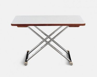 High End Folding Aluminum And Plywood With White Formica Boat Table 125 X 75 Cm Adjule To 2 Fixed Heights A8000ft