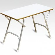 High Quality Marine grade Plywood covered with White Formica Boat Table 45 x 88 x 70 cm M200HFT