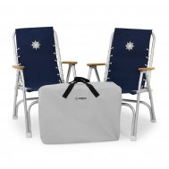 Protective zip-on waterproof bag for 2 folding chairs Marathon M150, Article C2M150