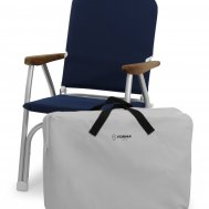 Protective zip-on waterproof bag for 1 folding chairs B100, Article C1B100